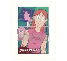Different Art Print
