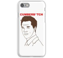 Cumberb*tch iPhone Case/Skin