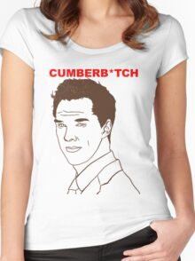Cumberb*tch Women's Fitted Scoop T-Shirt