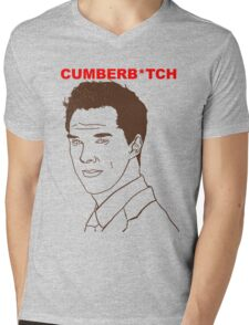 Cumberb*tch Mens V-Neck T-Shirt
