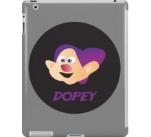 dopey iPad Case/Skin