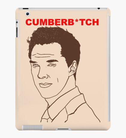 Cumberb*tch iPad Case/Skin