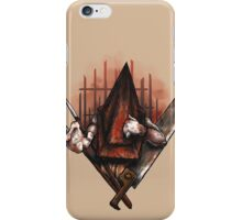Red Pyramid Thing iPhone Case/Skin
