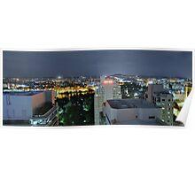 Brisbane CBD Night View 2 Poster