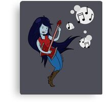 Marceline Music Canvas Print