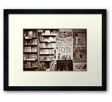 read... Framed Print
