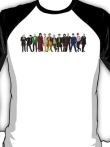 Doctor Who - 13 Doctors lineup T-Shirt