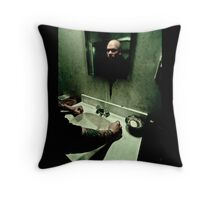 Reflections are broken Throw Pillow