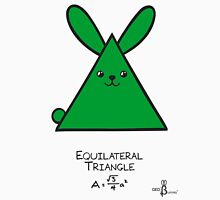 Equilateral Triangle GeoBunny Unisex T-Shirt
