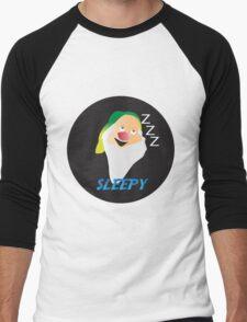 SLEEPY DWARF Men's Baseball ¾ T-Shirt