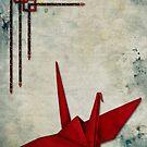 Paper Crane by Sybille Sterk