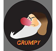 GRUMPY Photographic Print
