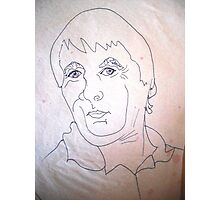 Quick Sketch Of Rick. Photographic Print