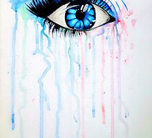 Watercolor Eye by StaceySteph