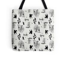 Toile Death Tote Bag