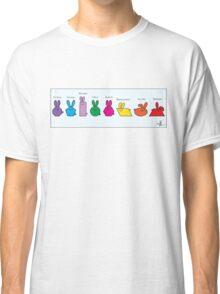 GeoBunnies Lineup Classic T-Shirt