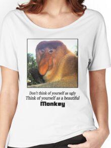 Monkey Shirt  Women's Relaxed Fit T-Shirt