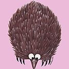 Echidna Pale Pink by Lou Van Loon