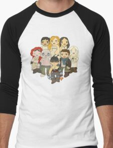 Feels a Little Like Hope Men's Baseball ¾ T-Shirt