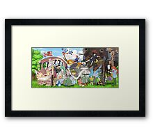 Studio Ghibli Movies Framed Print