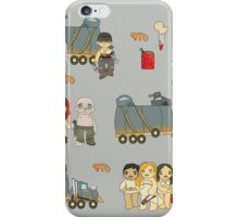 Across the Wasteland (in Slate) iPhone Case/Skin