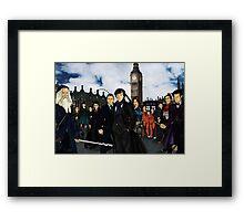 The UK Avengers Framed Print