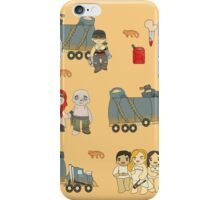 Across the Wasteland (in Sand) iPhone Case/Skin
