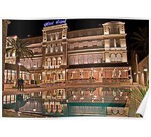Night. Hotel. Dubrovnik. Poster