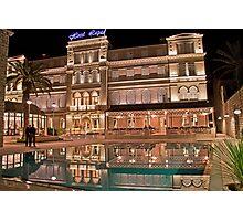 Night. Hotel. Dubrovnik. Photographic Print