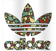 Adidas Abstract Logo Poster