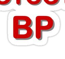 'Boycott BP' Sticker