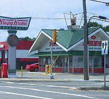 Krispy Kreme by Lesley Rosenberg