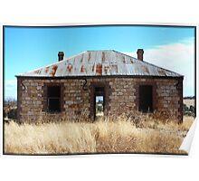 Abandoned - Mt Barker, Western Australia Poster