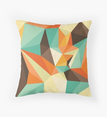 Shard – Retro Throw Pillow