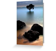Night at Tenby Point Greeting Card