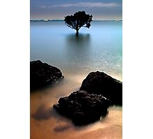 Night at Tenby Point Photographic Print