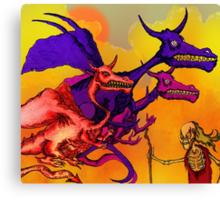 Dragon Master. Canvas Print