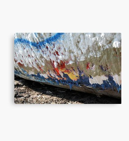 Layer after Layer on Folly Boat Canvas Print