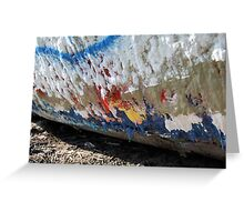 Layer after Layer on Folly Boat Greeting Card