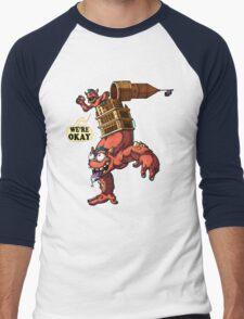 Cleveland Is Okay Men's Baseball ¾ T-Shirt