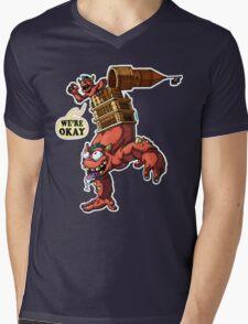 Cleveland Is Okay Mens V-Neck T-Shirt