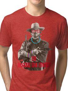 EDM Clint Eastwood Tri-blend T-Shirt