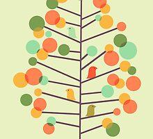 Happy Tree - tweet tweet by Budi Kwan
