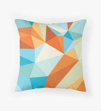 Shard – Gold Fish Throw Pillow