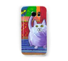 Big Fat Cat Samsung Galaxy Case/Skin