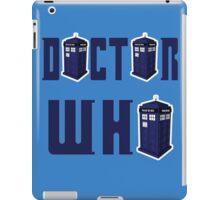 DOCTOR WHO design  iPad Case/Skin