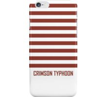 Crimson Stripes iPhone Case/Skin