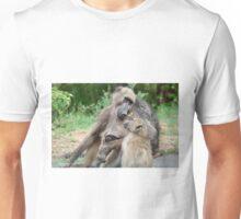 UNCONDITIONAL LOVE - CHACMA BABOON – Papio ursinus Unisex T-Shirt