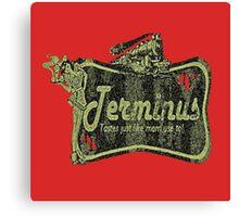 Terminus Diner Canvas Print