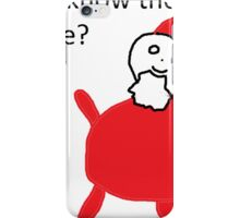 Do you know the way to Santa Fe? iPhone Case/Skin